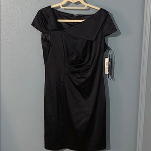 Tahari Navy cocktail dress